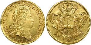 6400 Рейс Бразилия Золото Жуан V король Португалии (1689-1750)