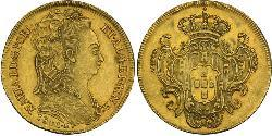 6400 Reis Kingdom of Portugal (1139-1910) / Brasilien Gold Maria I. von Portugal (1734-1816)