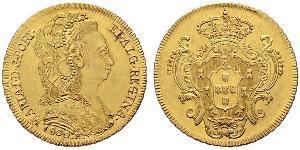 6400 Reis Brasil / Reino de Portugal (1139-1910) Oro María I de Portugal (1734-1816)
