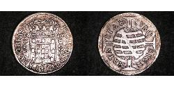 640 Reis Brasilien Silber
