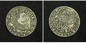 6 Грош Речь Посполитая (1569-1795) Серебро Сигизмунд III