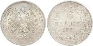 6 Крейцер Германия Серебро