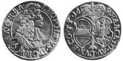 6 Крейцер Священная Римская империя (962-1806) Серебро