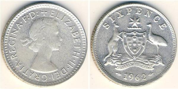 6 Пенни Австралия (1939 - )