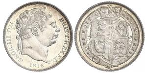 6 Пені / 1 Шестипенсовик Сполучене королівство Великобританії та Ірландії (1801-1922) Срібло Георг III (1738-1820)