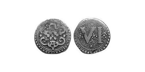 6 Пфенниг Альтена (1152 - 1609) Медь