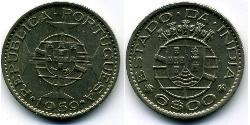 6 Escudo Portuguese India (1510-1961) Copper/Nickel