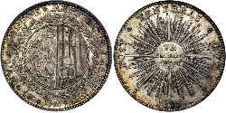6 Florin Switzerland Silver