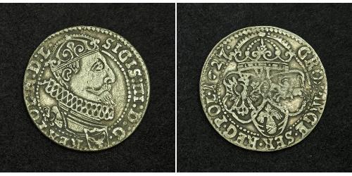 6 Grosh Polish-Lithuanian Commonwealth (1569-1795) 銀 Sigismund III of Poland