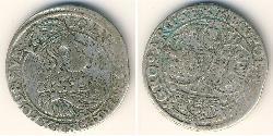 6 Grosh República de las Dos Naciones (1569-1795) Plata