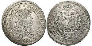 6 Kreuzer 奥地利历史 (1156 - 1806) 銀