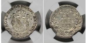 6 Kreuzer 巴登大公國 (1806 - 1918) 銀