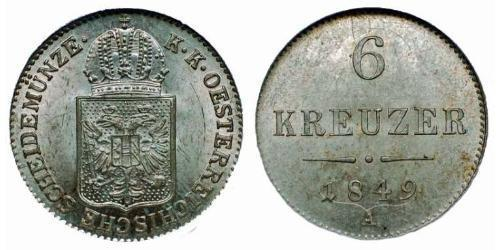 6 Kreuzer  銀