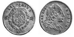 6 Kreuzer Elettorato di Baviera (1623 - 1806) Argento Massimiliano III di Baviera(1727 – 1777)