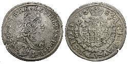 6 Kreuzer Österreich Silber