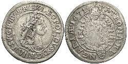 6 Kreuzer Ungarn (1989 - ) Silber