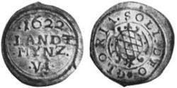 6 Kreuzer Duchy of Bavaria (907 - 1623) Silver Maximilian I, Elector of Bavaria (1573 – 1651)