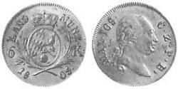 6 Kreuzer Electorate of Bavaria (1623 - 1806) Silver