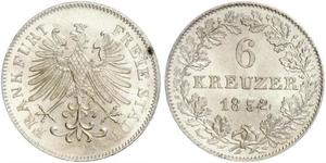 6 Kreuzer Germany Silver