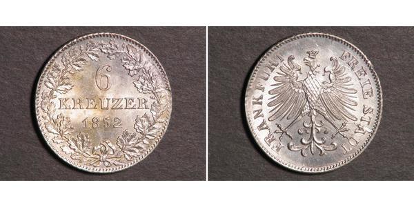 6 Kreuzer Germany Silver