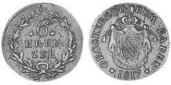 6 Kreuzer Grand Duchy of Baden (1806-1918) Silver