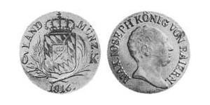 6 Kreuzer Kingdom of Bavaria (1806 - 1918) Silver