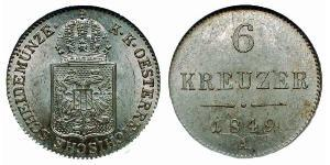 6 Kreuzer  Silver