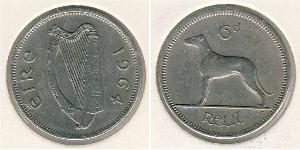 6 Penny Irlande (1922 - ) Cuivre/Nickel