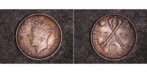6 Penny Southern Rhodesia (1923-1980) Plata Jorge VI (1895-1952)