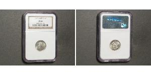 6 Penny Südafrika Silber Elizabeth II (1926-)