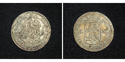 6 Stuiver Repubblica delle Sette Province Unite (1581 - 1795) Argento