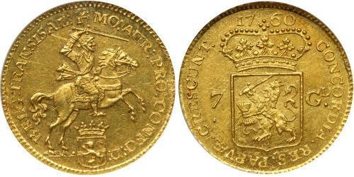7 Gulden Provinces-Unies (1581 - 1795) Or