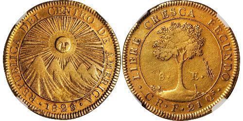 8 Ескудо Коста-Ріка Золото