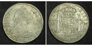 8 Реал Боливия Серебро Карл III король Испании (1716 -1788)