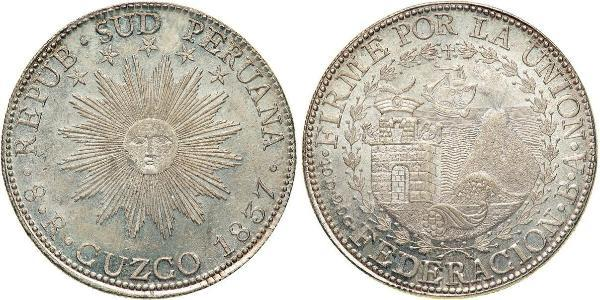 8 Реал Перу Срібло