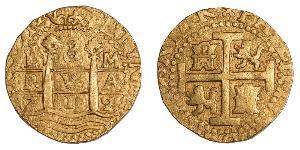 8 Эскудо Перу Золото Филипп V король Испании (1683-1746)
