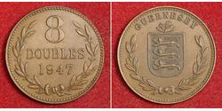 8 Double Guernsey Kupfer