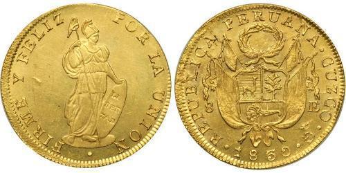 8 Escudo 秘鲁 金