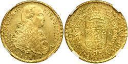 8 Escudo Chile Gold Ferdinand VII. von Spanien (1784-1833)