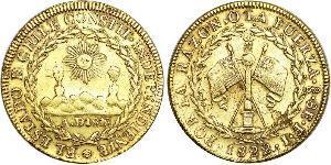 8 Escudo Chile Gold