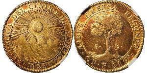 8 Escudo Costa Rica Gold