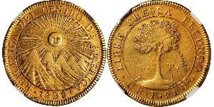 8 Escudo Costa Rica Gold