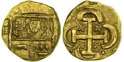 8 Escudo Habsburg Spain (1506 - 1700) Gold Philip IV. von Spanien (1605 -1665)