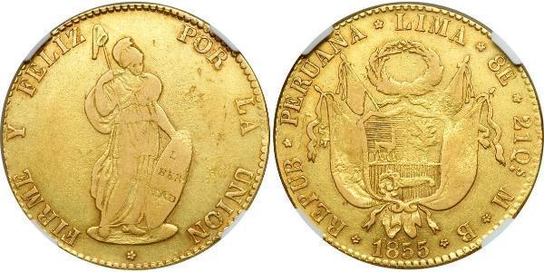 8 Escudo Peru Gold