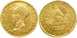 8 Escudo Plurinational State of Bolivia (1825 - ) Gold Simon Bolivar (1783 - 1830)