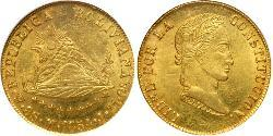 8 Escudo Plurinational State of Bolivia (1825 - ) Gold
