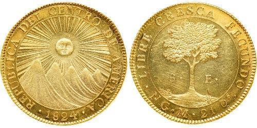 8 Escudo Guatemala Or