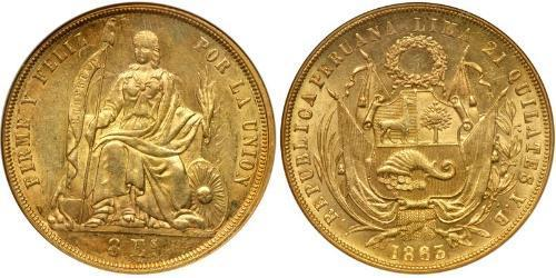 8 Escudo Perù Oro