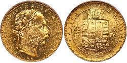 8 Forint / 20 Franc