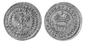 8 Marck Free Imperial City of Aachen (1306 - 1801) Silver